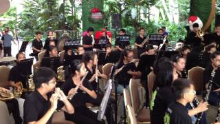 Solo Saxophone Prelude by Commonwealth Secondary School Military Band