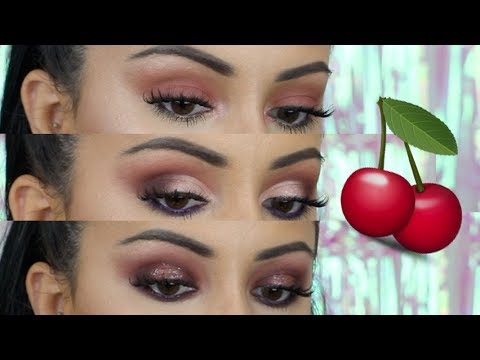 *NEW* Urban Decay Naked Cherry Palette 3 LOOKS 🍒Ad