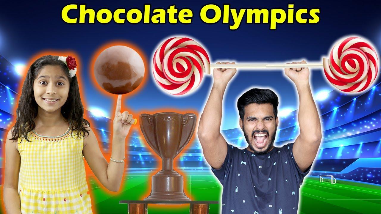 Fun Chocolate Games With Cadbury Dairy Milk in Lickables | Chocolate Olympics | Pari's Lifestyle