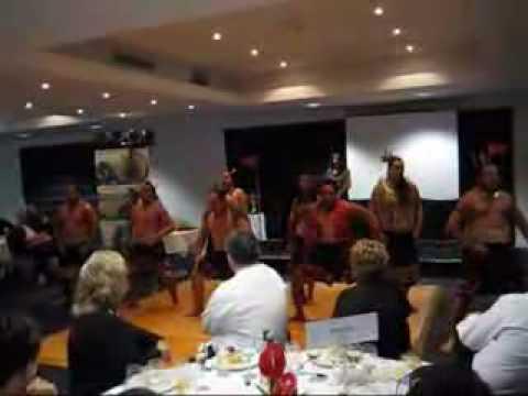 Gala Dinner Maori Haka