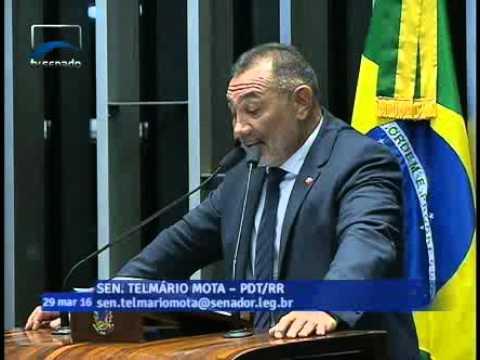 Telmário Mota Condena Saída Do PMDB Da Base Do Governo