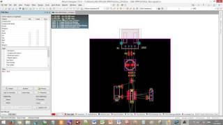Настройка стратегии размещения и автотрассировка в САПР Altium Designer