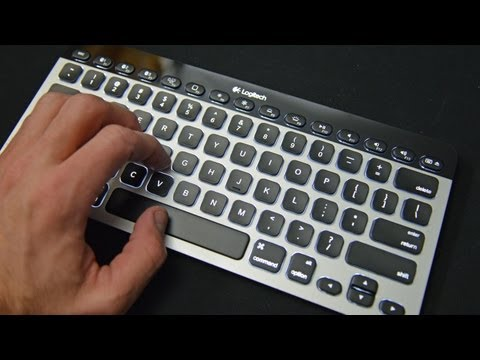 Logitech Bluetooth Easy-Switch Illuminated Apple Keyboard (K811): Unboxing & Review