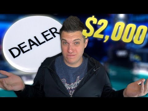 Win The Hand, Keep The Button?! $2,000 Buy-In Poker Tournament