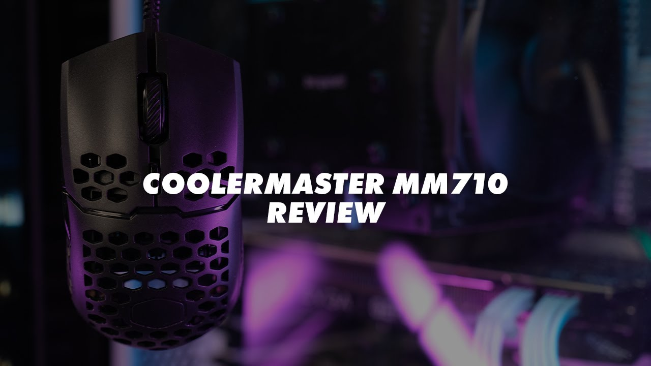 Coolermaster MM710 Unboxing & Review 2020