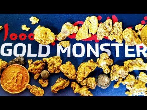 BUSCADOR DE TESOROS encuentra ORO con el GOLD MONSTER 1000