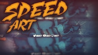 speed art banner darkzyt   photoshop cs6 descarga el gfx pack