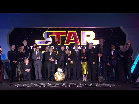 Star Wars: The Force Awakens European Premiere