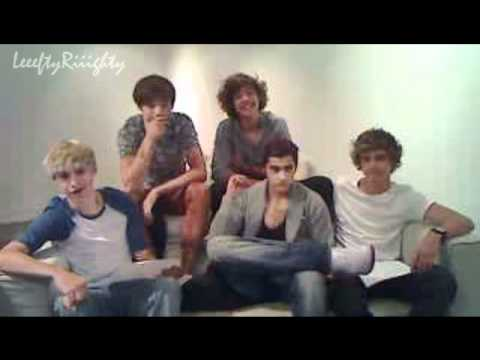 One Direction Ustream 22nd July 2011 (Part 1/3)