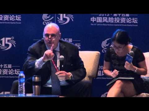 Alberto Forchielli at 15th (2013) China Venture Capital & Private Equity Forum, Shenzhen