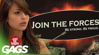 Join The Army Funniest Prank
