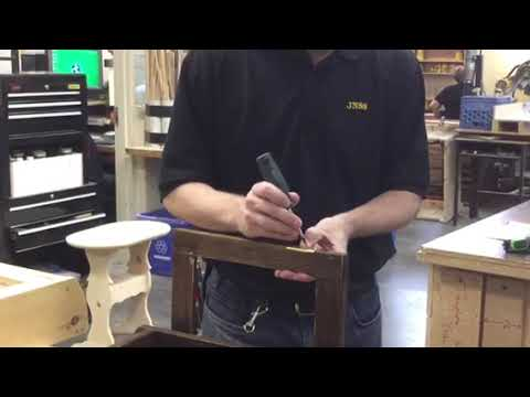 Installing Non Mortise Hinges Youtube