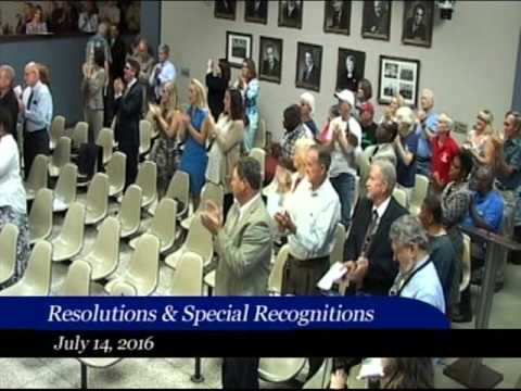 Huntsville City Council 7.14.16