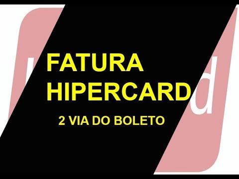 Fatura Hipercard 2 Via Do Boleto Como Tirar A Segunda Via