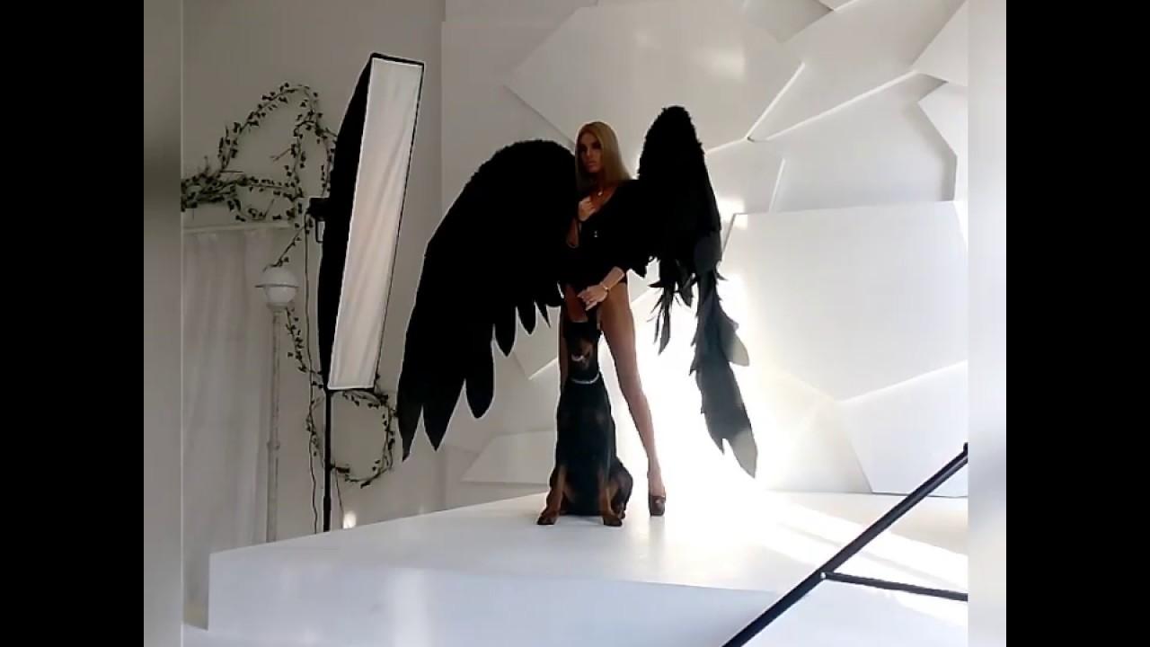 фотосессия с крыльями ангела в студии москва был сделан красивейшие
