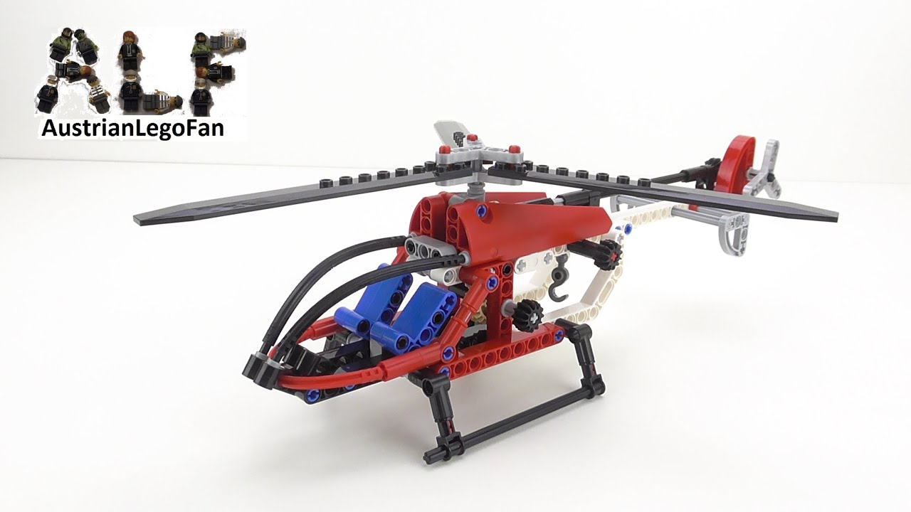 lego technic 8046 helicopter hubschrauber lego speed build review youtube. Black Bedroom Furniture Sets. Home Design Ideas