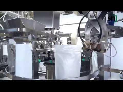 HFFS Beutelverpackungs-Maschine FMH 80 im Hygienic Design