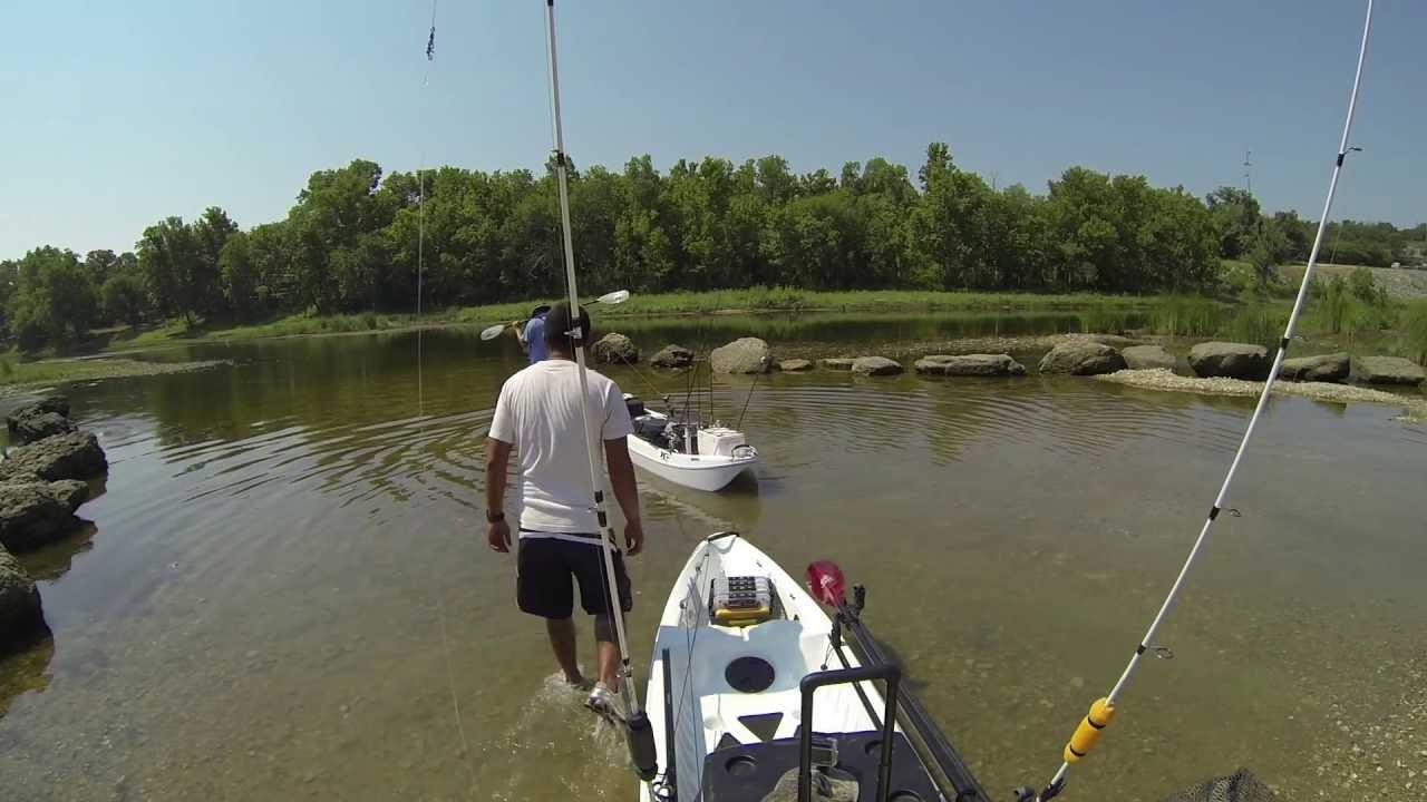 Kayak fishing the brazos river youtube for River fishing kayak