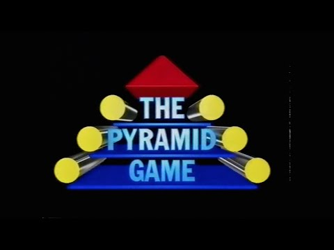 The Pyramid Game Series 5  Programme 4 TVS Production 1990
