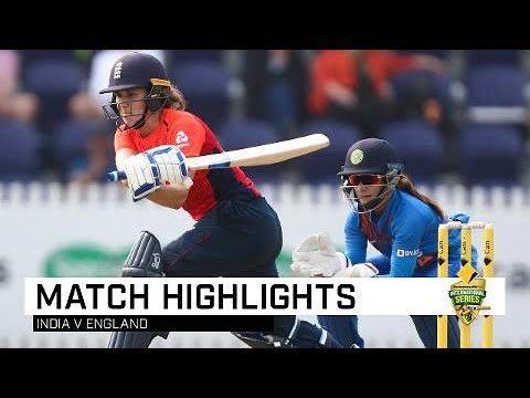 Shrubsole And Sciver Star As England Edge India | CommBank T20 INTL Tri-Series