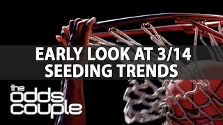 NCAA Basketball Betting | Odds Couple | Tournament Seeding Trends & Preview: #3 vs #14