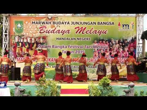Festival Tari Melayu 2015 UPT Anjungan Riau TMII Jakarta