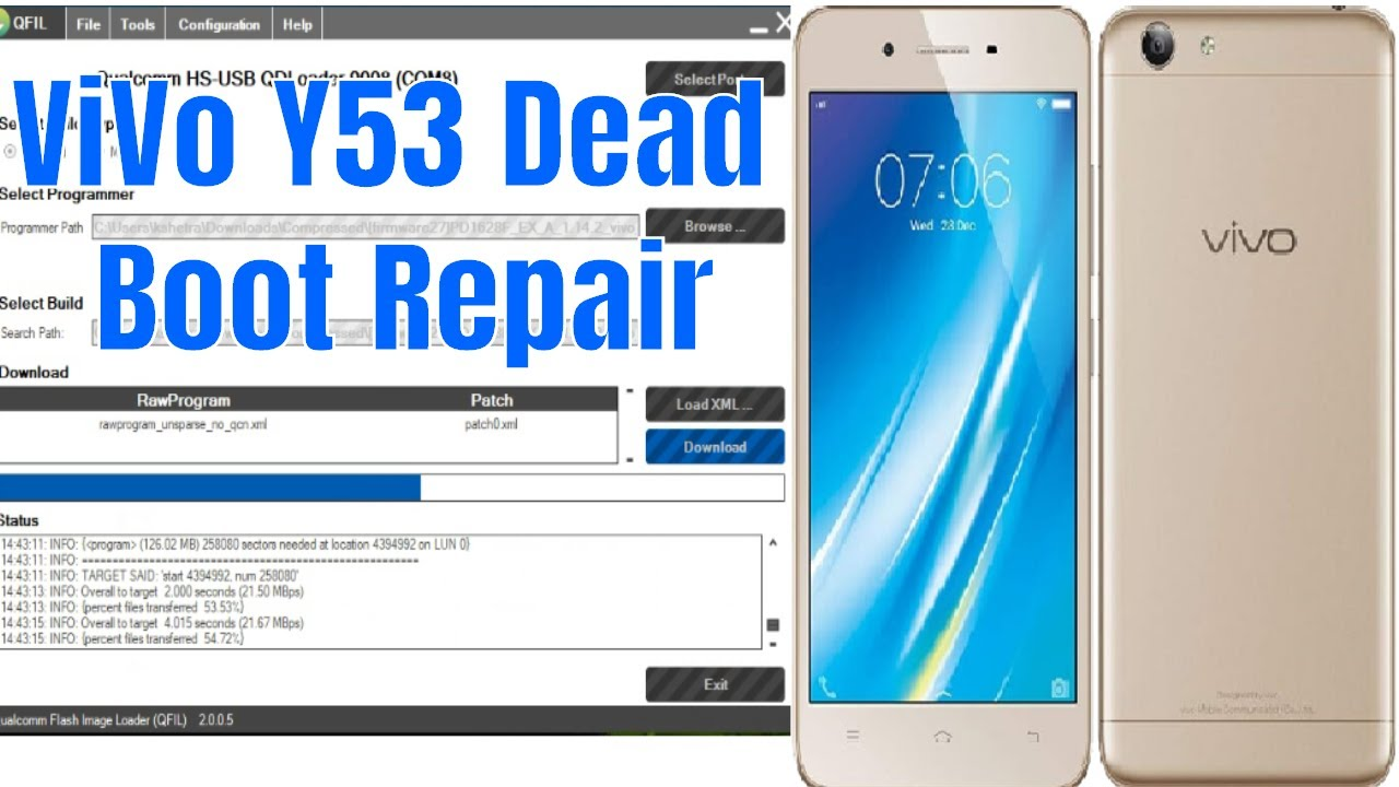 ViVo Y53 Dead After Flash Recover/Repair Done 1000% Tested
