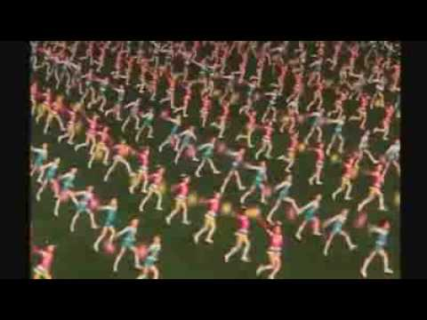 Massive gymnastic Arirang show in North Korea - ABC 081109