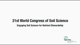 IPNI represented at 21st World Congress of Soil Science in Rio