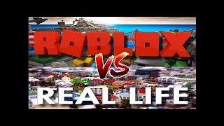 ROBLOX vs Real life (Funny)