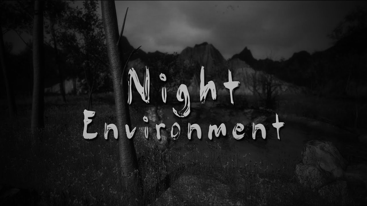 [Level Design] How to create Night Environment in Unity3D