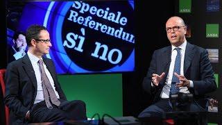 ForumAnsa referendum costituzionale con Angelino Alfano