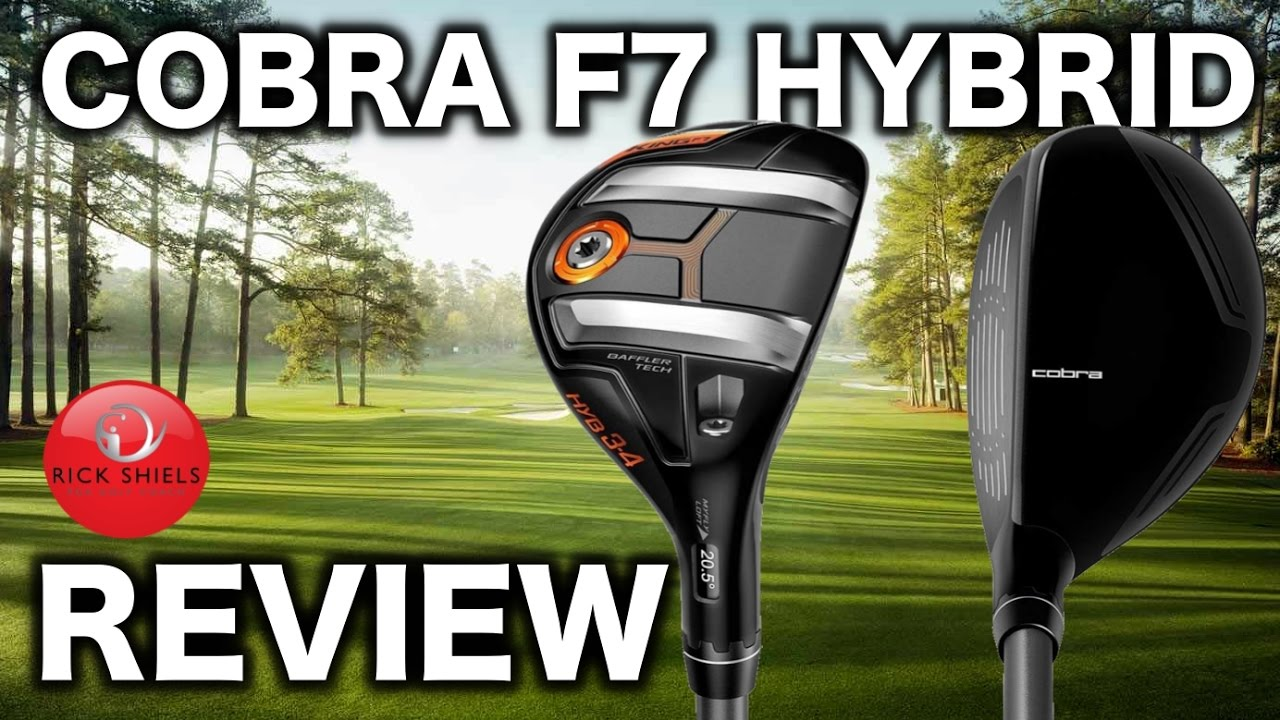 NEW COBRA F7 HYBRID REVIEW