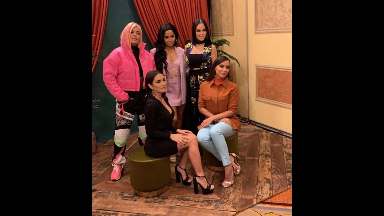Lali, Becky G, Karol G, Anitta & Natti Natasha  #WomenintheLead en Las Vegas