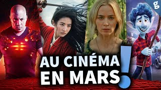NOUVEAUX FILMS qui sortent au CINEMA en MARS !