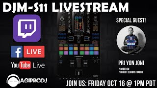 AGI PRO DJ | PIONEER DJM-S11 First Look and Overview with Pri yon Joni
