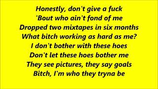 Bodak Yellow Lyrics by Cardi B