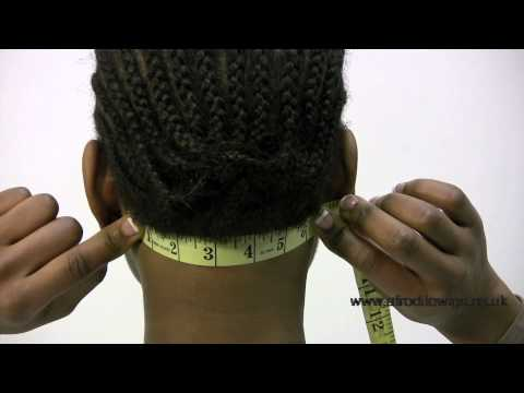 lace wigs: how to measure the nape of your neck - youtube, Cephalic Vein