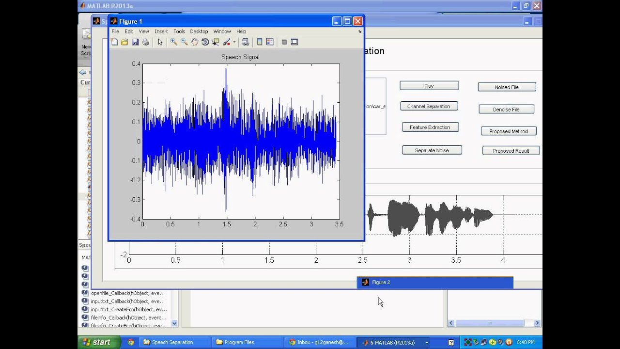 IEEE 2013 MATLAB REVIEW ON SPEECH ENHANCEMENT USING SIGNAL SUBSPACE METHOD