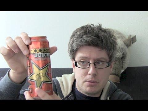 Rockstar Juiced Energy Drink Test