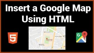 Insert a Google Map to Your Website Free HD Video