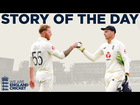England Fight Back Late In The Day! | England v Pakistan 1st