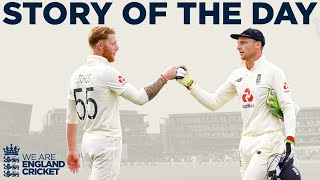 England Fight Back Late In The Day! | England v Pakistan 1st Test Day