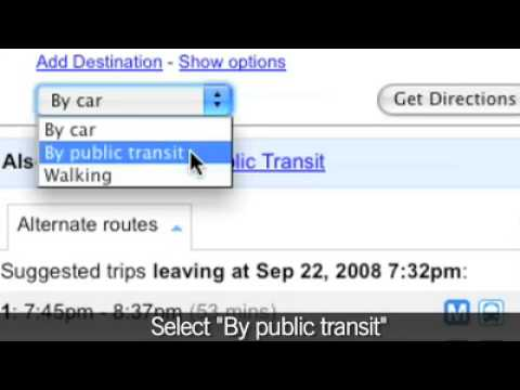 59f001380d8f NYC Transit on Google Maps - YouTube