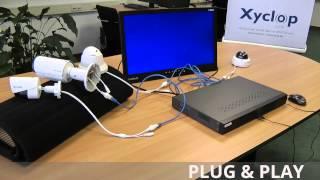 Xyclop CCTV installatie, inclusief software instellingen