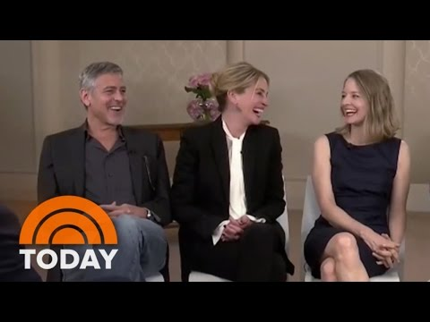 George Clooney, Julia Roberts, Jodie Foster Talk 'Money Monster' | TODAY