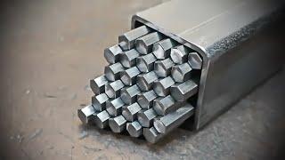 Полигональная Дамасская сталь.