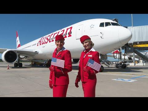 Austrian Airlines Fliegt Wieder Langstrecke Am Flughafen Wien