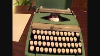 Smith Corona Corsair Deluxe Typewriter For Sale (SOLD)