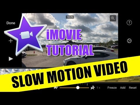 IMovie For IPhone IPad Tutorial - Slow Motion Video How To
